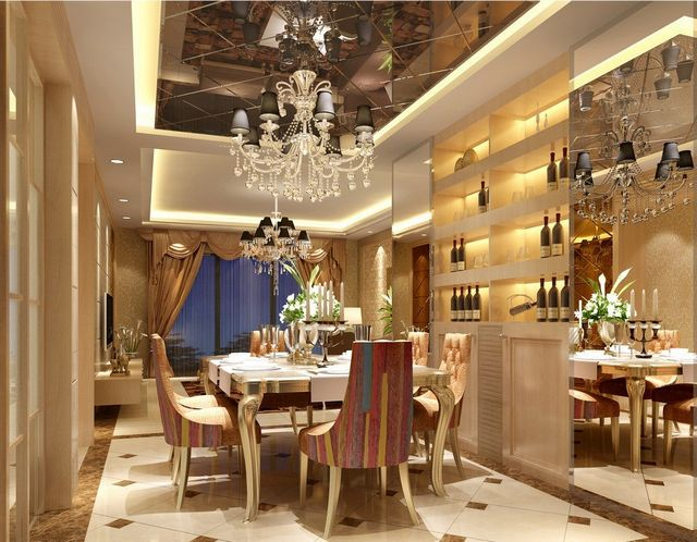 Charmant Add Some Luxurious Touches To Your Dining Room